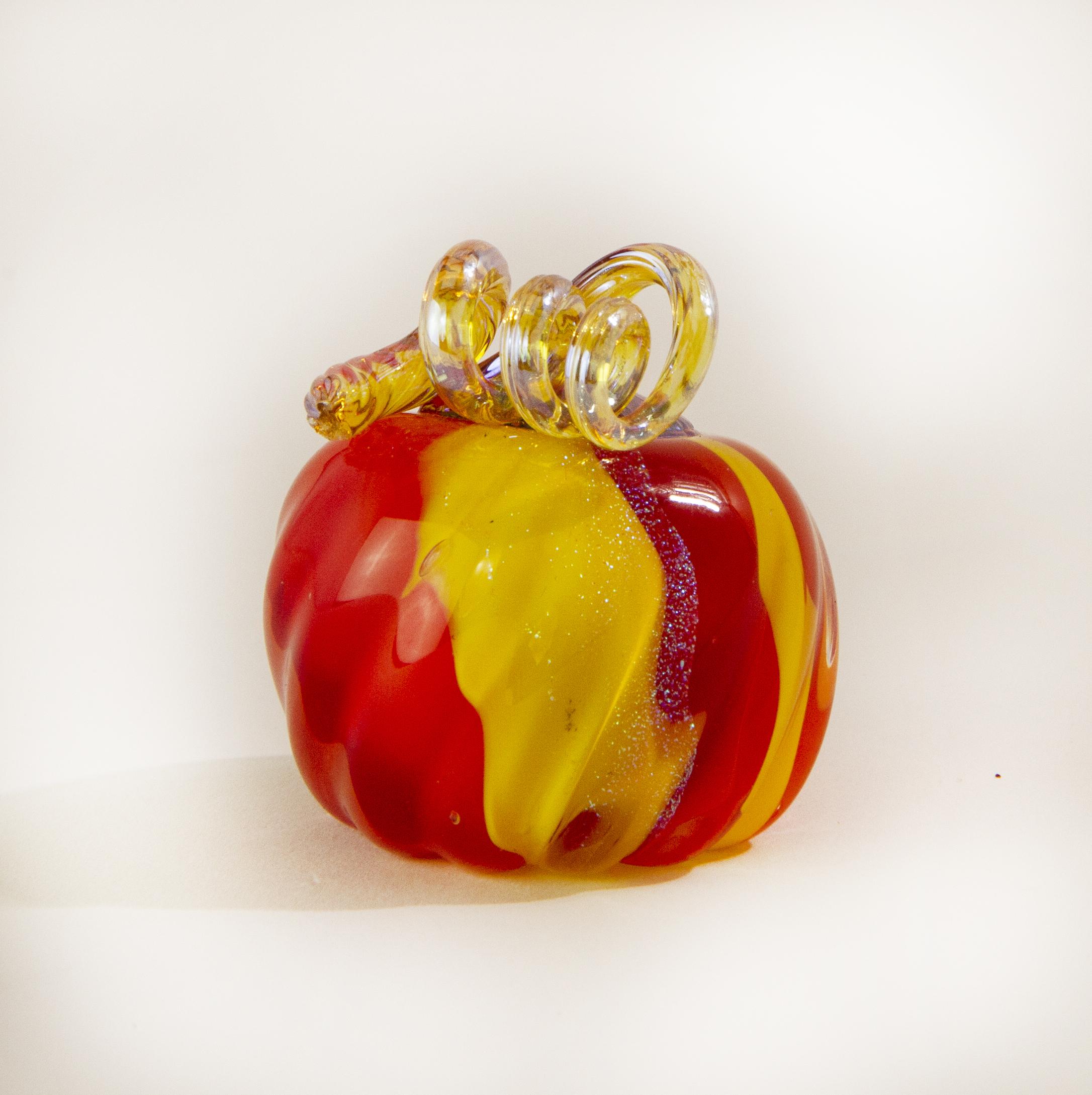 Mini Solid Ketchup & Mustard Pumpkin